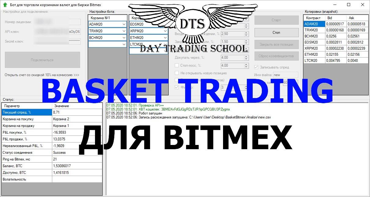 Баскет-трейдинг_Bitmex_робот1