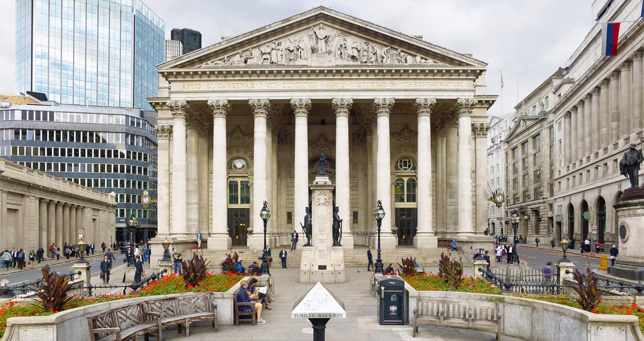 Лондонская-биржа