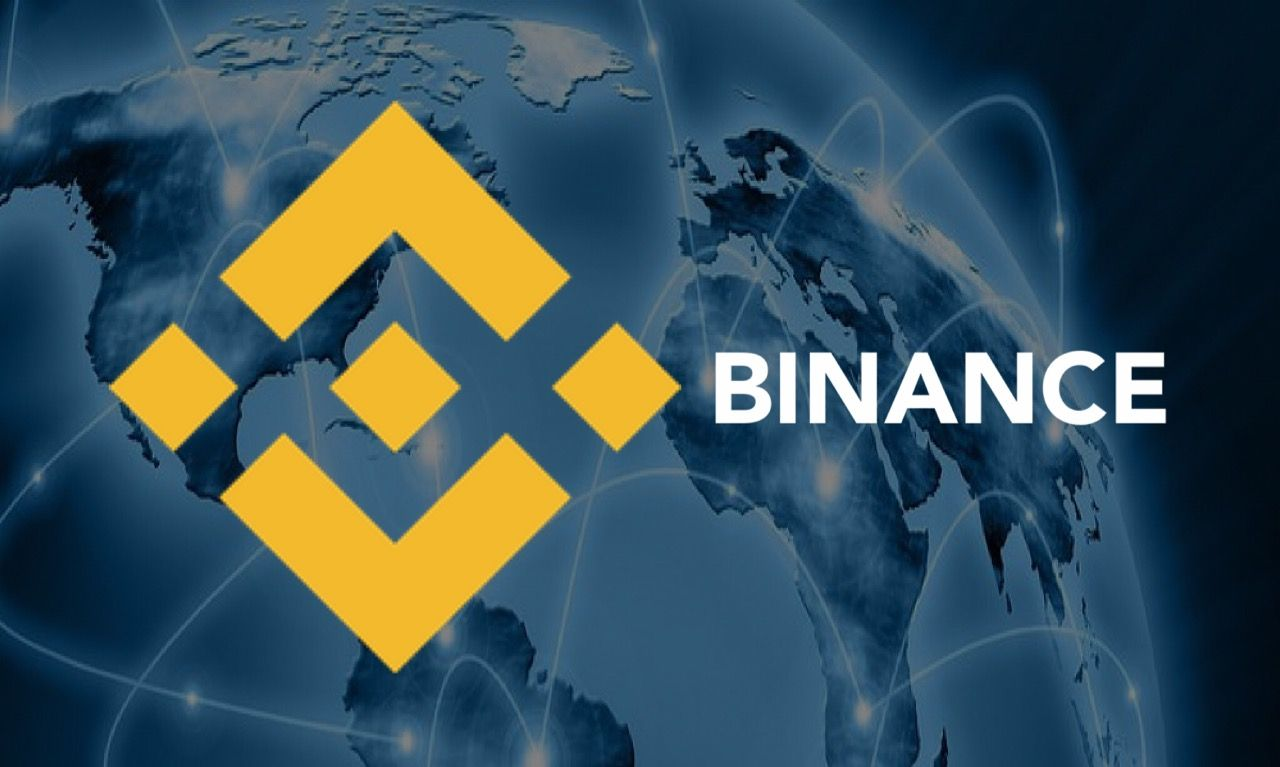 Binance-банер