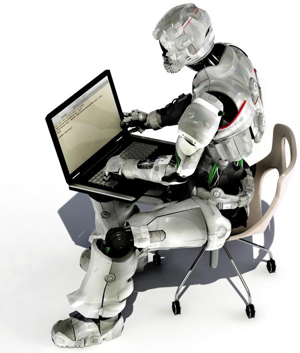 Robot-at-Computer
