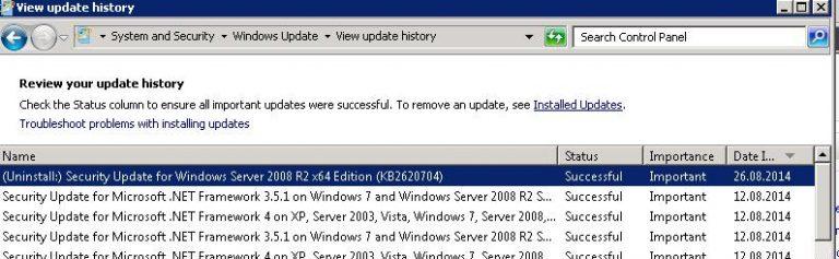 Windows-Update-History