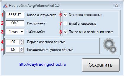 Настройшик-AvrgVolumeAlert